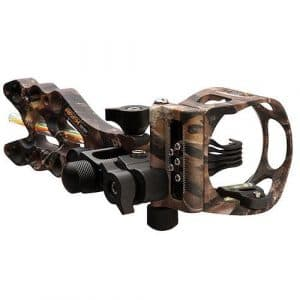 Game Changer 5 Pin Sight Lost Camo w/Light