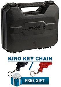 Micro Robas Lame 19, 23et 32Caa GearUp Porte-vélo Étui pour micro Roni Lame 19, 23et 32Kit de base + Kiro Chaîne Clé en cuir