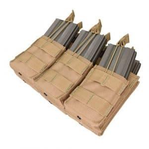 CONDOR MA44-003 Triple Stacker M4/M16 Mag Pouch Coyote Tan