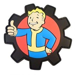 Fallout Vault Tec Pip Boy PipBoy Cosplay Morale PS4 XBOX PVC Gomme 3D Velcro Écusson Patch