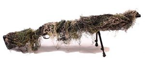 FILET COUVRE FUSIL SNIPER CAMOUFLAGE WOODLAND FOSCO 469275 AIRSOFT CAMO