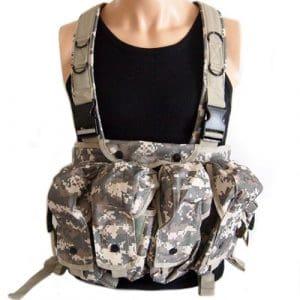 [Large] Sale ACU Tactical chest rig armor vest Tactical Chest Rig (japan import)