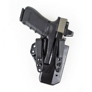 Raven Concealment Eidolon Holster – EG17 RH BK 1.5 FULL Glock 17 Black Full Kit Right by Raven Concealment