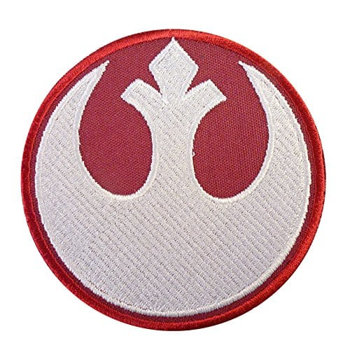 rebel alliance star wars embroidered sew thermocollant cusson patch