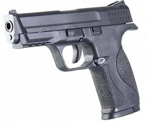 REPLIQUE PISTOLET A BILLES 15 CM ABS NOIR 0.3 JOULE 500058 PACA IMPORT AIRSOFT