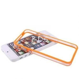 Simple pour Iphone 4/4s en TPU Hybrid Bumper de protection antichocs en silicone Orange TB1 Products ®