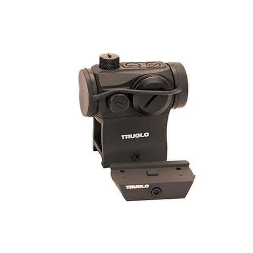 TruGlo Tru-Tec Red Dot Sight 20mm 2 MOA Reticle TG8120BN by TruGlo
