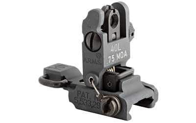 ARMS LOW PROFILE FLIP UP REAR SIGHT by Mars