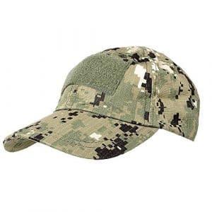 Casquette Militaire Casquette de Baseball pour Dehors Tactique Airsoft avec 3 Velcro et Attachements Panneau pour Pièces – AOR2
