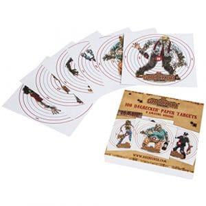 Dagrecker Zombie Carte cible 100 pièces