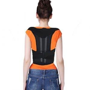 Dynry (TM) support scoliose support arriššre correction de la posture dos HOT pour les hommes des femmes Factory Outlet et de dšŠtail
