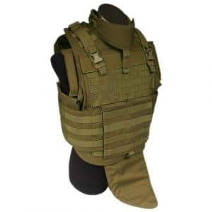 Flyye MOLLE MTV Gilet Coyote Brun Taille M