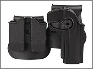 main droite pistolet holster pour Beretta 92 96 M92 et pochette magazine