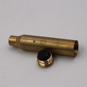 MAYMOC 223 alésage viseur Laser Red dot cartouche dans la chambre 223 REM / 5,56 Red Dot Laser Sighter