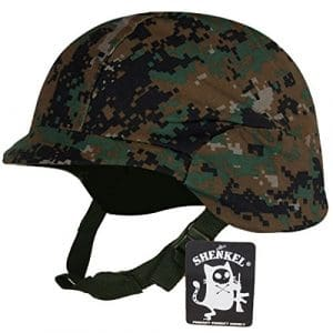 Pixel vert Couverture de camouflage avec l'arm?e am?ricaine de type casque Fritz M88 (japon importation)