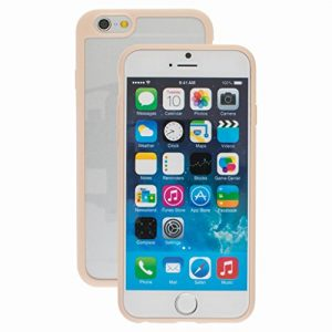 Good Quality Apple iphone 7 Case cover, TPU Rubber Ultra Thin Bumper Twin Colour Case Frame Protective Cover For iPhone 7 (Camel)