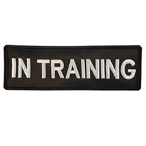 K9 Harness IN TRAINING dog K-9 Nylon Velcro Écusson Patch
