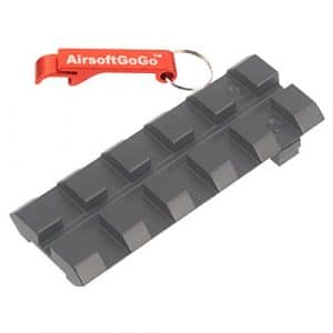 Rear Sight Adaptateur Rail pour APS ACP601 (G17) / Marui G17 Airsoft GBB – AirsoftGoGo Porte-clés Inclus