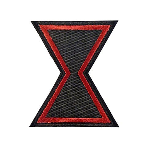 Black Widow Movie Avengers SHIELD Hero Embroidered Touch Fastener Écusson Patch