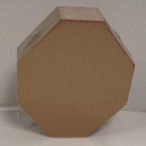 IPSC Cible «Mini Classic Target» 30-38 Cm. – Emballage par 50 piéces – Carton ondulé micro brunàtre, verso blanc