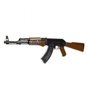 FUSIL AK47 0926D ABS NOIR ET MARRON SPRING SEMI AUTO 0.2 JOULE