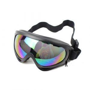 Dcolor 2 en 1 Tactique Metal Maille Militaire Masque + Lunettes de protection tir Airsoft