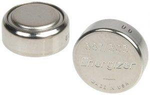 LaserMax Lms-10X 357SLVR Oxd Batteries Uni-es/Uni-ir lasers (10)
