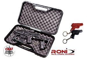 rocase-g2–26Caa tactique étui pour Roni G2–26+ Kiro en cuir Porte-clés