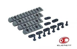 Element Polymer Rail Sections for Magpul PTS handguard – Foliage Green by Element