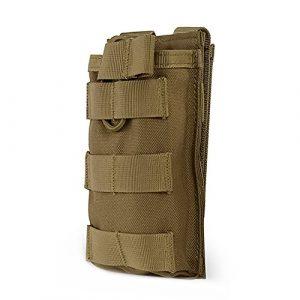 OUTRY M4 M16 AR15 Porte Chargeur, porte-chargeur de supérieure ouverte (Simple – Coyote)