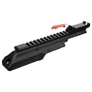 AK Cover avec 20mm Tactique Rail arrière Sight pour CYMA CM076A Airsoft AEG – Porte-clés Inclus