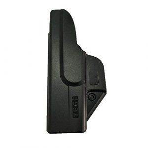 efluky Moulure d'Injection Dissimulable Pratique et Holster Polymère pour Glock 43 IWB Carry, RH / OWB Carry, LH
