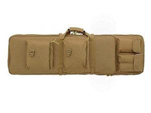 HOUSSE DE PROTECTION TRANSPORT – SAC A DOS TAN EXTENSIBLE 100 A 125 CM POUR 2 FUSILS M51612054-TAN AIRSOFT