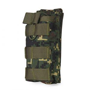OUTRY M4 M16 AR15 Porte Chargeur, porte-chargeur de supérieure ouverte (Simple – Jungle numérique)