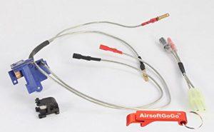 Element Large Capacity Switch Assembly pour airsoft AEG ( Ver.2 / Front ) – Porte-clés Inclus