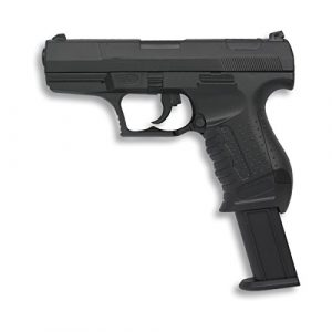 Pistolet à air doux 6 mm Albainox, corps en PVC, entraînement par ressort,