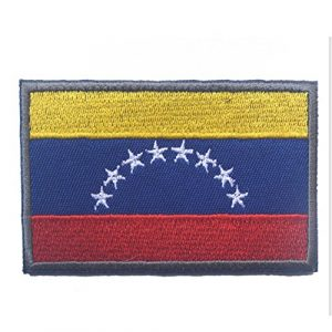 Rungao Broderie patchs Country Drapeau 3d tactique badge Moral à broder militaire Patch Craft Home, #8
