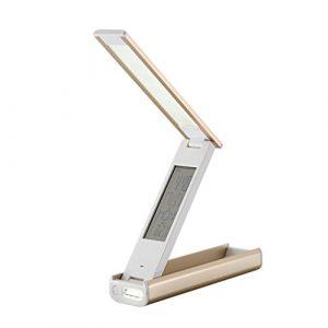 LED Multifonction Pliant Portable Mobile Protection des Yeux Bureau Lampe de Changement d'Alimentation Calendrier D'apprentissage De Charge Table Lampe GAOXP