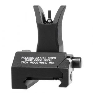 Troy Industries avant Style pliable Bataille Sight (Noir)