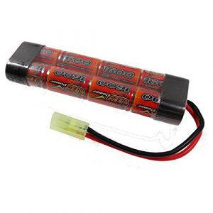 Vb Power Std Airsoft Battery 9.6v Battery 1600 Mah / Taymia Connector Recharge
