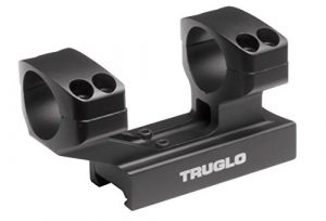 Truglo Tactical Scope Anneaux de montage, mixte, TG8963B, n/a, 1.5-inch Height, 1-inch Ring