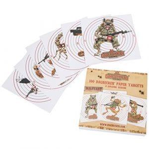 Dagrecker Military Carte cible 100 pièces