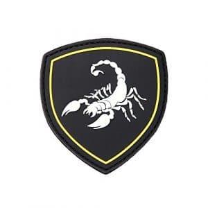 Patch 3D PVC Bouclier Scorpion / Scorpio / Noir / Cosplay / Airsoft / Camouflage …
