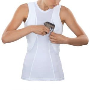 5.11 Tactical Holster Womens Base Layer Top Medium White