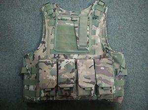 Multicam Camo Tactical Vest Molle system Armor best multi duck (japan import)