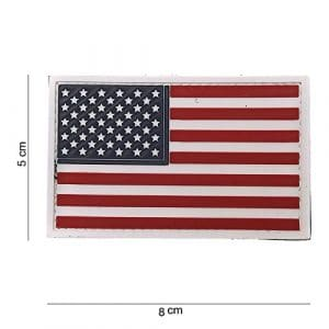 Patch 3D PVC Drapeau USA / Cosplay / Airsoft / Camouflage …