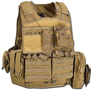 D5Body Armor Carrier bav06Airsoft, Tan