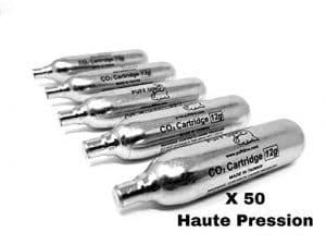 PUFF DINO CO2 Cartouches Co2 Airsoft 12g Première Marque X 50 Co2 Vérins Haute Pression Spéciaux pour Airsoft Express Shipping