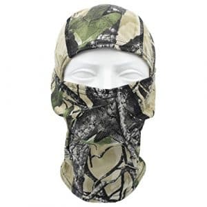 TClian Camouflage Cagoule Masque Complet Ninja Capuche Tests Camo Bionic, Alpie