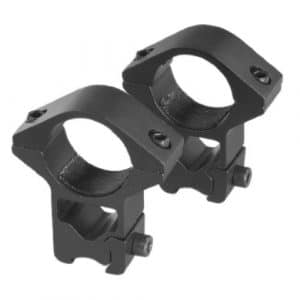 SMK Pair of High Improved Mount Rings for 9-11mm Rails Airsoft Rifle Gun Scope